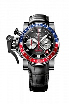Graham Chronofighter Oversize GMT Steel Pepsi