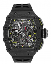 Richard Mille RM 11-03 Black Carbon NTPT Flyback Chronograph Watch