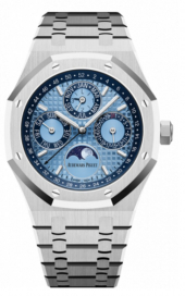 Audemars Piguet Royal Oak Perpetual Calendar Ice Blue 26574PT.OO.1220PT.01