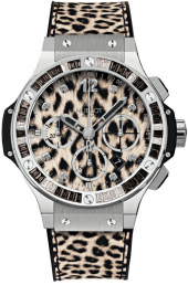 Hublot Big Bang Steel Leopard Steel Snow 41 mm 341.SX.7717.NR.1977
