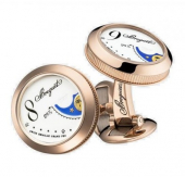 Запонки Breguet Pair Watch Email Grand Feu 9905BR7787