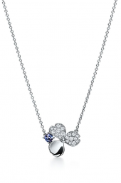 Подвеска Tiffany Paper Flowers Diamond and Tanzanite Flower Pendant 61625690