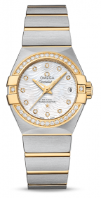 Omega Constellation Co-Axial 27 mm 123.25.27.20.55.007