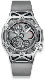 Hublot Techframe Ferrari Tourbillon Chronograph Sapphire White Gold 45mm