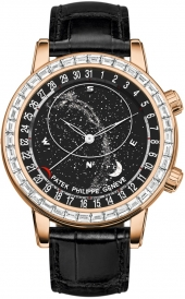 Patek Philippe Grand Complications Celestial Moon Age 44 mm 6104R-001