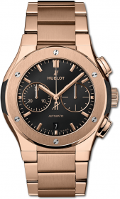 Hublot Classic Fusion Chronograph King Gold Bracelet 42 mm 540.OX.1180.OX