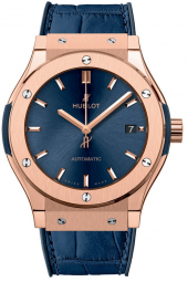 Hublot Classic Fusion Blue King Gold 45 mm 511.OX.7180.LR