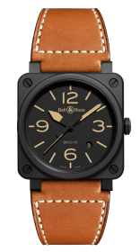Bell & Ross Instruments BR 03-92 Heritage 42 mm BR0392-HERITAGE-CE