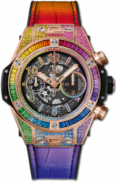 Hublot Big Bang Unico Rainbow King Gold 45 mm 411.OX.9910.LR.0999