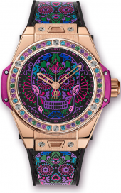 Hublot Big Bang One Click Calavera Catrina Black Ceramic 39 mm 465.OX.1190.VR.1299.MEX18