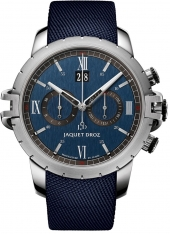 Jaquet Droz Sport Watch Chrono Steel