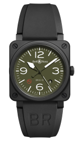 Bell & Ross Instruments BR 03-92 Military Type 42 mm BR0392-MIL-CE