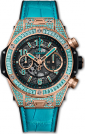 Hublot Big Bang Unico King Gold Paraiba 42 mm 411.OX.1189.LR.0919