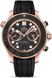 Omega Seamaster Diver 300M Co-Axial Master Chronometer Chronograph 44 mm 210.62.44.51.01.001