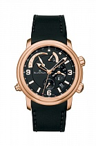 Blancpain Leman Alarm GMT Rose Gold