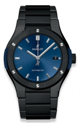 Hublot Classic Fusion 42 mm Ceramic Blue Bracelet