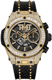 Hublot Big Bang Unico TMT Yellow Gold Jewellery 45 mm 411.VX.1180.PR.0904.TMT18