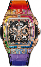 Hublot Spirit of Big Bang King Gold Rainbow 641.OX.0110.LR.0999