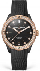 Ulysse Nardin Lady Diver 39 mm 8165-182B-3/BLACK
