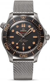 Omega Seamaster Diver 300m Omega Co-Axial Master Chronometer 007 Edition 210.90.42.20.01.001