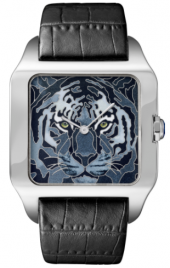 Cartier Santos Dumont Motive of the Tiger XL