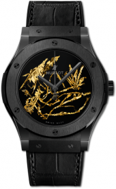 Hublot Classic Fusion Gold Crystal Firmament 45 mm 511.CX.0660.LR