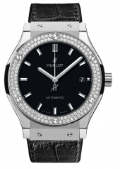 Hublot Classic Fusion Titanium Diamonds 38 mm 565.NX.1171.LR.1104
