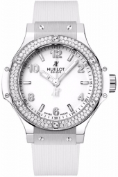 Hublot Big Bang Steel White Diamonds 38 mm 361.SE.2010.RW.1104