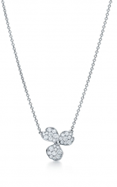 Подвеска Tiffany Paper Flowers Pavé Diamond Flower Pendant 61626093