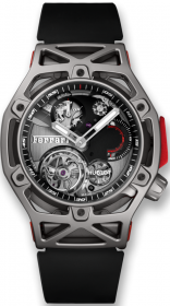 Hublot Techframe Ferrari Tourbillon Chronograph Titanium 45 mm 408.NI.0123.RX