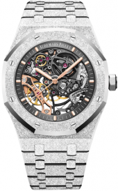 Audemars Piguet Royal Oak Frosted Gold Double Balance Wheel Openworked 41 mm 15407BC.GG.1224BC.01