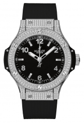Hublot Big Bang Steel Pave Diamonds 38 mm 361.SX.1270.RX.1704