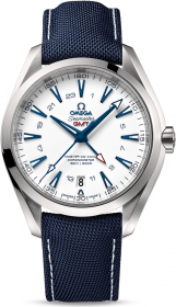 Omega Seamaster Aqua Terra 150M Co-Axial GMT Good Planet 43 mm 231.92.43.22.04.001