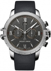 Jaquet Droz Sport Watch Chrono Steel Anthracite