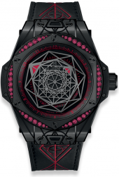 Hublot Big Bang Sang Bleu All Black Red 39 mm 465.CS.1119.VR.1202.MXM18