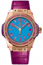 Hublot Big Bang One Click Pop Art King Gold Rose 465.OP.5189.LR.1233.POP16