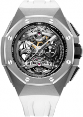 Audemars Piguet Royal Oak Concept Tourbillon Chronograph Openworked Selfwinding 44 mm 26587TI.OO.D010CA.01