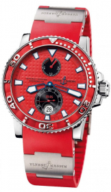 Ulysse Nardin Marine Diver Red 42,7 mm 263-33-3/96
