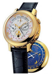 Patek Philippe Grand Complications Sky Moon Tourbillon Double Face 42.8 mm 5002J-001