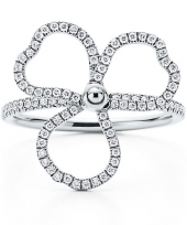 Кольцо Tiffany Paper Flowers Diamond Open Flower Ring GRP10396