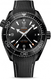 Omega Seamaster Planet Ocean 600m Co-Axial Master Chronometer GMT Deep Black 45.5 mm 215.92.46.22.01.001