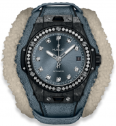 Hublot Big Bang One Click Frosted Carbon Diamonds 39 mm 465.QK.7170.VR.1204.ALP18