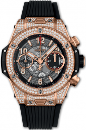 Hublot Big Bang Unico King Gold Pave 42 mm 441.OX.1180.RX.1704
