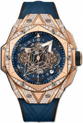 Hublot Big Bang Sang Bleu II King Gold Blue Pave 45 mm 418.OX.5108.RX.1604.MXM20