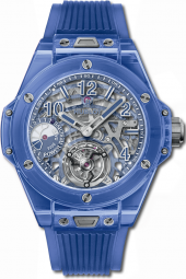 Hublot Big Bang Tourbillon Power Reserve 5 Days Blue Sapphire 45 mm 405.JL.0120.RT