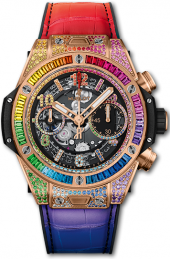 Hublot Big Bang Unico King Gold Rainbow 42 mm 441.OX.9910.LR.0999