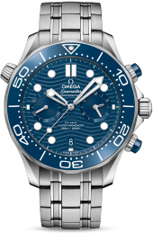 Omega Seamaster Diver 300M Co-Axial Master Chronometer Chronograph 44 mm 210.30.44.51.03.001