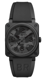 Bell & Ross Instruments BR 03-92 Black Camo 42 mm BR0392-CAMO-CE/SRB