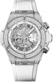 Hublot Big Bang Unico Titanium White Pave 42 mm 441.NE.2010.RW.1704