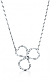 Подвеска Tiffany Paper Flowers Diamond Open Flower Pendant 61626425